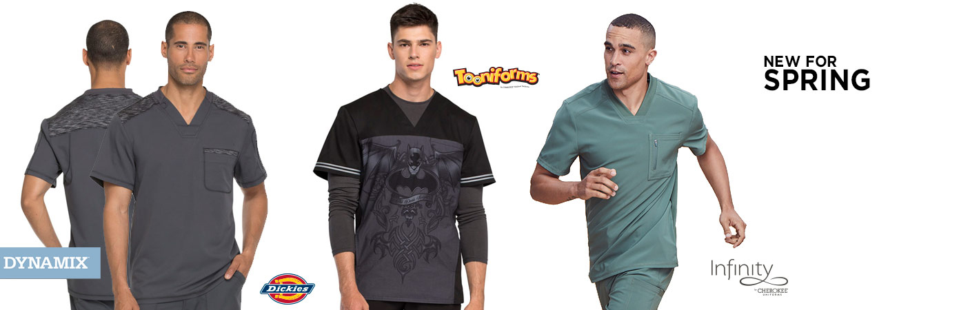 New Mens Scrubs